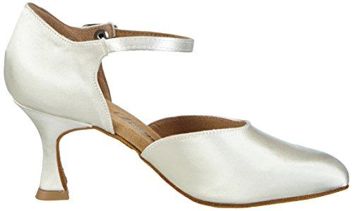 Diamant Women's Brautschuhe Standard Tanzschuhe 051-085-092 Ballroom Dance Shoes White NH8or8o0A