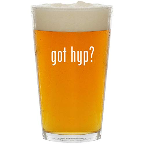 got hyp? - Glass 16oz Beer Pint ()