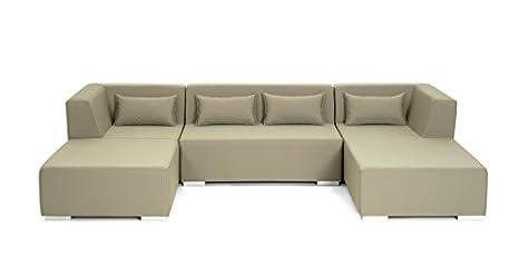 CONJUNTO DE EXTERIOR. Modelo MARBELLA. Modular tapizado para ...