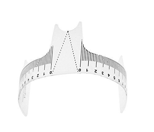 Herramienta de maquillaje estándar para medición de cejas de tatuaje Huining