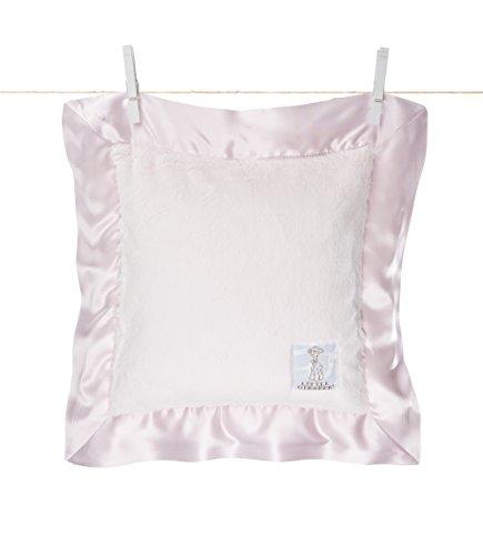 Little Giraffe Luxe Pillow, Pink (Pillow Fur Giraffe)