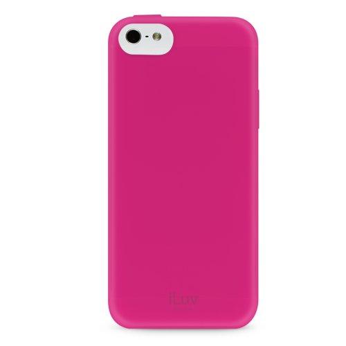 iLuv Gelato TPU Case for iPhone 5C - Retail Packaging - Pink (Case Iluv Gelato)