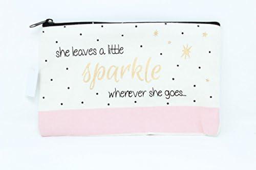 Deja a little Sparkle Chloe grande Make Up Bag: Amazon.es: Belleza