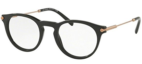 Bvlgari Men's BV3035 Eyeglasses Black (Bulgari Eyeglasses)