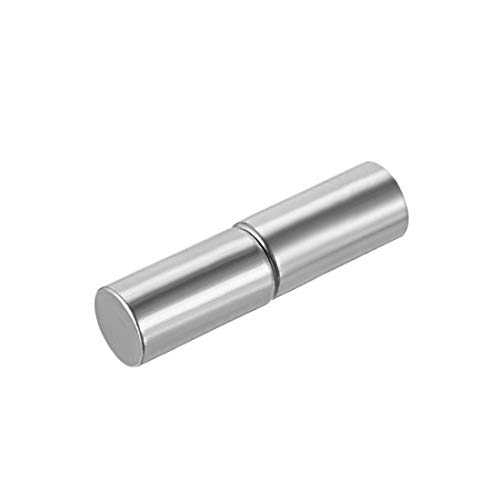 Uxcell a16011900ux0017 Home Gate Door Window Male to Female Steel Hinge Pin 50 mm x 9 mm Pack of 20