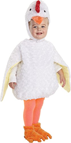 [Morris Costumes Little Boy's Chicken Toddler, Large, White/Yellow] (Homemade Disney Character Costumes Adults)