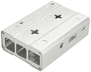 Silver 3B Motherboard Feicuan Protective Case Cover Metal Box Enclosure Shell for Raspberry Pi 2B 2B