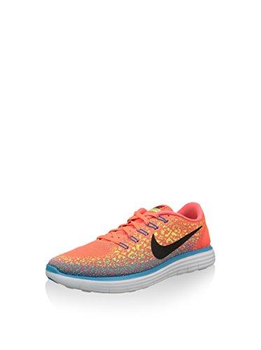 Nike Heren Vrije Rn Afstand Hardloopschoen (8,5 D (m) Ons, Hyper Oranje / Zwart Volt)