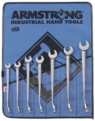 12 Point Armstrong Combo - Armstrong 25-625 Combo MAXX Beam 12 Point Wrench Set 7 Piece