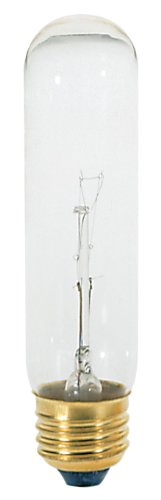 (Satco S3252 120V 40 Watt T10 Medium Base Light Bulb, Clear)