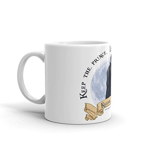 Keep the Prince, I'll take the Pirate - Killian Jones. 11 Oz Ceramic Glossy Mugs With Easy Grip Handle, Give A Classic For Look And Feel