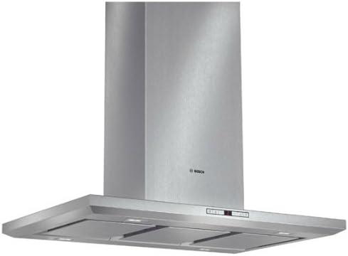 Bosch DIB091U52 - Campana (870 m³/h, Canalizado/Recirculación, 47 dB, 470 m³/h, Isla, Acero inoxidable): Amazon.es: Hogar