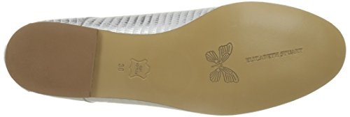 Elizabeth Stuart Issio, Zapatos de Cordones Derby para Mujer Blanc (blanc)