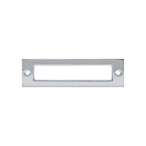 Chrome Knob Backplates - Top Knobs - TK924PC - Hollin Backplate - Polished Chrome - Lynwood Collection