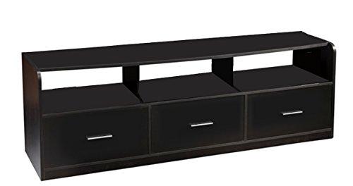 Convenience Concepts Designs2Go Tribeca 60-Inch TV Stand, Bl