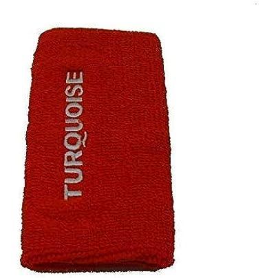 Turquoise Cuff Long Wristband Beach Tennis Orange Estimated Price £7.67 -