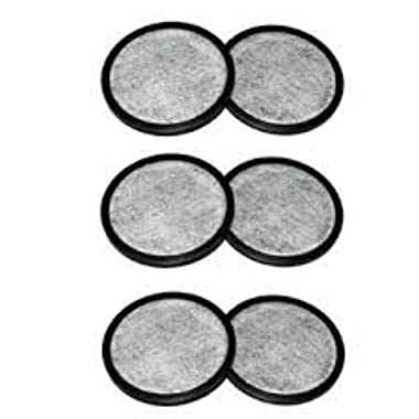 Everyday 6-Replacement Charcoal Water Filters for Mr. Coffee Machines