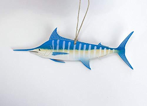 - Blue Marlin Christmas Ornament