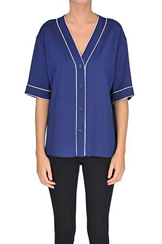 Goose Blouse Golden Mcgltpc000005025e Mujer Viscosa Azul q77Pwdf
