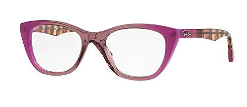 Ray-Ban Eyeglasses RX5322 5489 Grad Antique Pink On Pink 51 18 - P Ray Ban Glasses