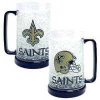 New Orleans Saints Crystal Freezer Mug New Orleans Saints Football Uniform