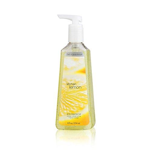 Bath & Body Works Kitchen Lemon 8.0 oz Anti-Bacterial Deep Cleansing Hand Soap