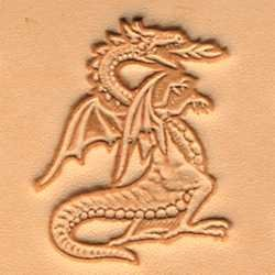 Tandy Leather 3D Dragon Stamp 88423-00