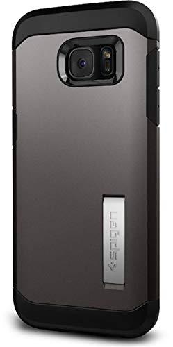Spigen Tough Armor Designed for Samsung Galaxy S7 Edge Case (2016) - Gunmetal