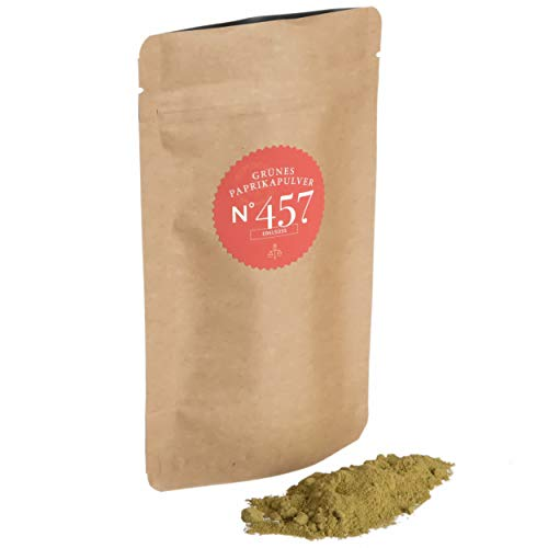Grünes Paprikapulver N°457 | edelsüß | Großpackung 500g | mild, würzig & feinfruchtig