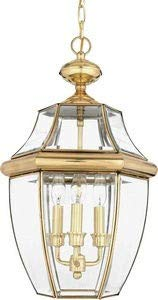 Quoizel Newbury Large Hanging Lantern in Polished ()