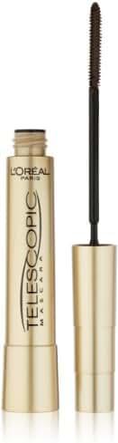 L'Oreal Paris Telescopic Mascara, Blackest Black, 0.27 Ounces