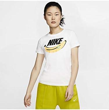 (ナイキ) NIKE ナイキ ウィメンズ シーズナル プリント 1 Tシャツ L ホワイト/(ブラック)