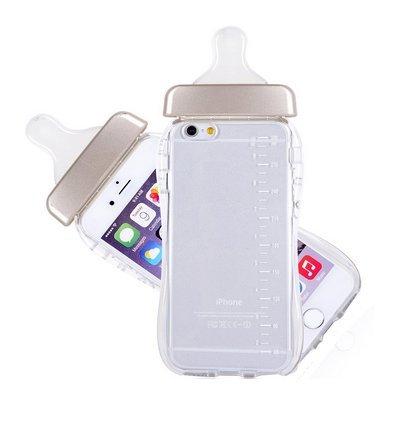 save off 4d414 94b33 Amazon.com: A-Smile@ Iphone 6S Case,Cute 3D Baby Bottle Milk Bottle ...