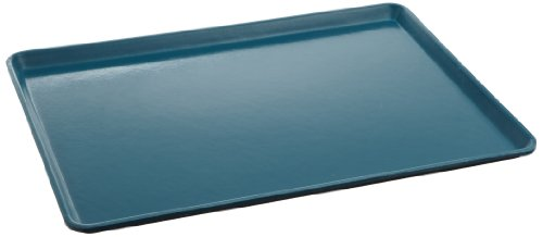 Carlisle 1216LFG007 Fiberglass Glasteel Solid Low Edge Tray, 16.37