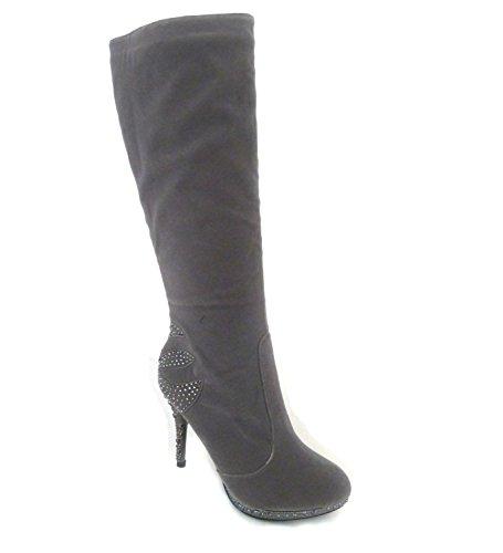 Grey Sko's Femme Bottes 3779 Pour qFZHtfF
