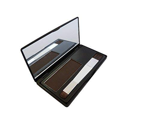 🥇 Hair Genetics® Retoca Raíces de Polvos Minerales de Aspecto Natural – Retocador de Raíces tras Coloración del Pelo para Cubrir Canas – Tinte de Cejas que Define y Rellena en Segundos