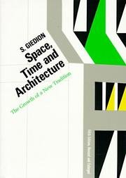 Space, Time and Architecture: The Growth of a New Tradition, 5th Revised and Enlarged Edition