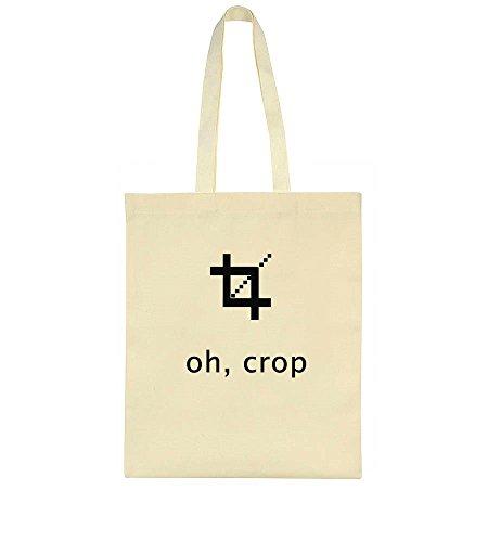 Crop Artwork Bag Tote Oh Funny dS1SF