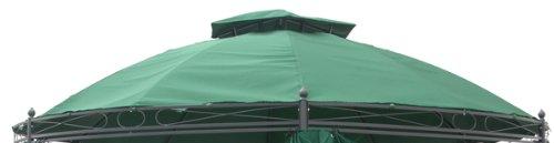 Ersatzdach Metallpavillon grün für Modell Haushalt International 62351