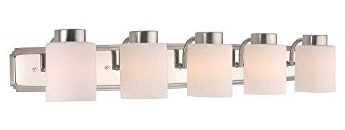 - Dolan Designs 3505-09 5Lt Satin Nickel Westport 5 Light Bath bar,