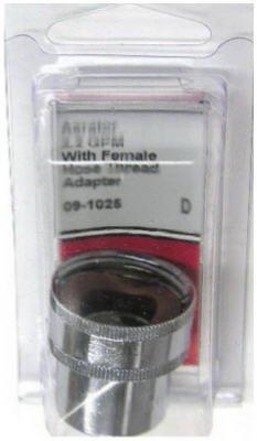 LASCO 09-1025 Chrome Plated 2.2 GPM Female Hose Thread Aerator
