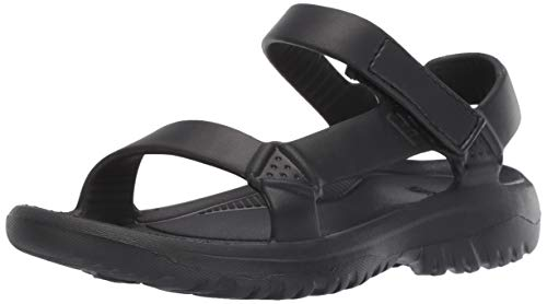 (Teva Women's W Hurricane Drift Sport Sandal, Black 5 Medium US)