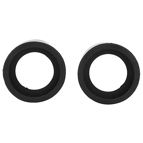 KP-H2 Flat Angle 2Pcs Rubber Eyepiece Cover Accessory Guards Eyeshields Telescope Protector Rubber Eyecups with 36mm Diameter for Stereo Microscope