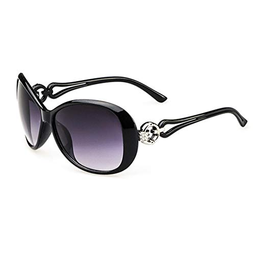 Erholi Women Fashion Oval Shape UV400 Framed Sunglasses Sunglasses ()