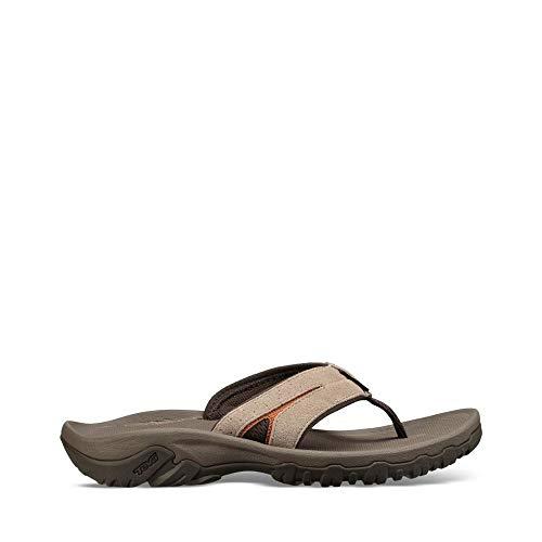 Teva Mens M Katavi 2 Thong Sport Sandal, Walnut, 11 M US