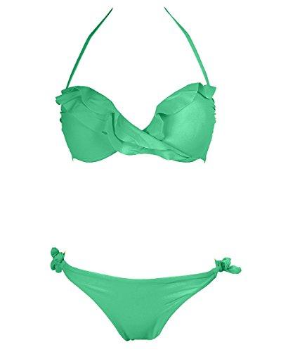 Cfeminin - Conjunto - para mujer Verde