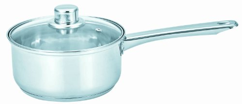 BC Classics BC-53697 Sauce Pan with Glass Lid, 2-Quart