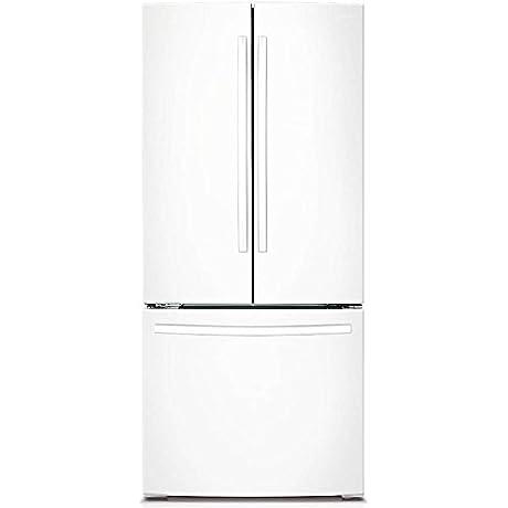 Samsung RF220NCTAWW 21 6 Cu Ft White French Door Refrigerator Energy Star