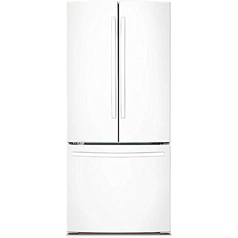 Samsung RF220NCTAWW Independiente 611.6L Blanco nevera puerta lado a lado - Frigorífico side-by
