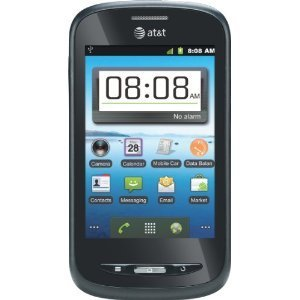 AT&T ZTE Avail Z990 Unlocked GSM Phone with Android 2.3 OS, 5MP Camera, GPS, Wi-Fi, Bluetooth and microSD Slot - Black